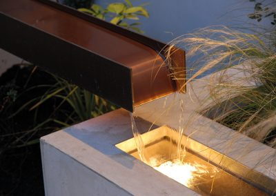 Water Feature Private Residence