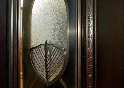 Bronze Front Door Barcelona